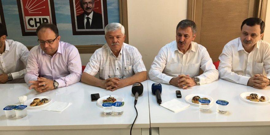 AK PARTİ'den CHP'ye Fetö teşekkürü