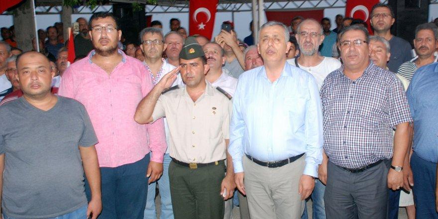 Binbaşı Ali Özcan, demokrasi yürüyüşünden sonra gözaltına alındı