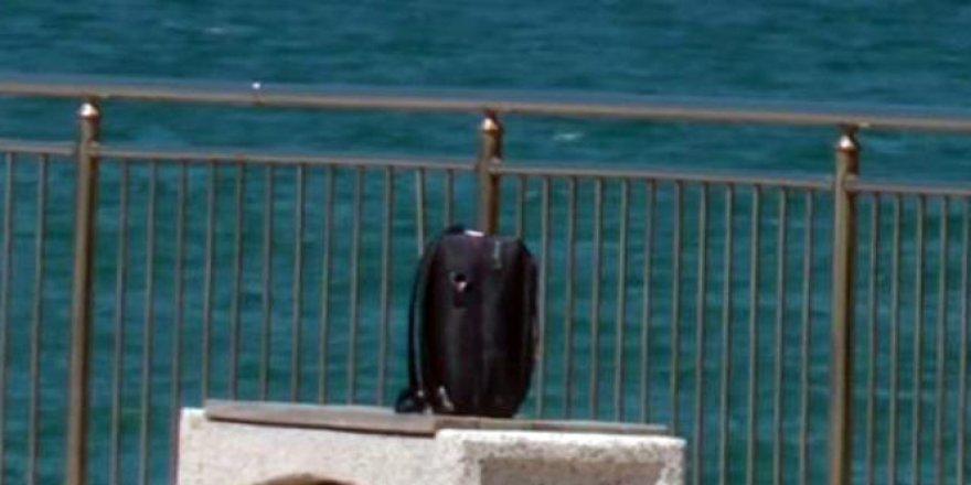 Akçakoca'da şüpheli bavul paniği