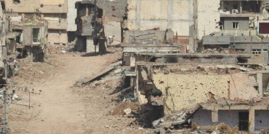 Mardin, Nusaybin'den geriye bu görüntüler kaldı