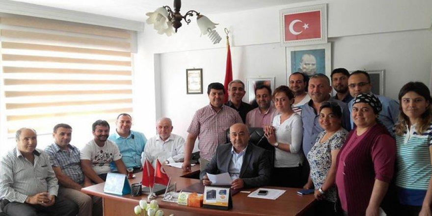 Dalaman AK Parti İlçe teşkilatı görevden alındı