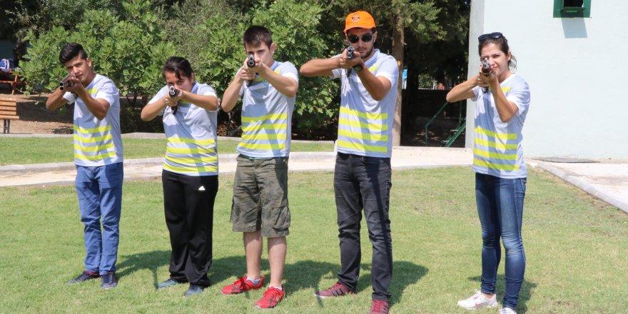Yaz okullarına atıcılık sporu da eklendi