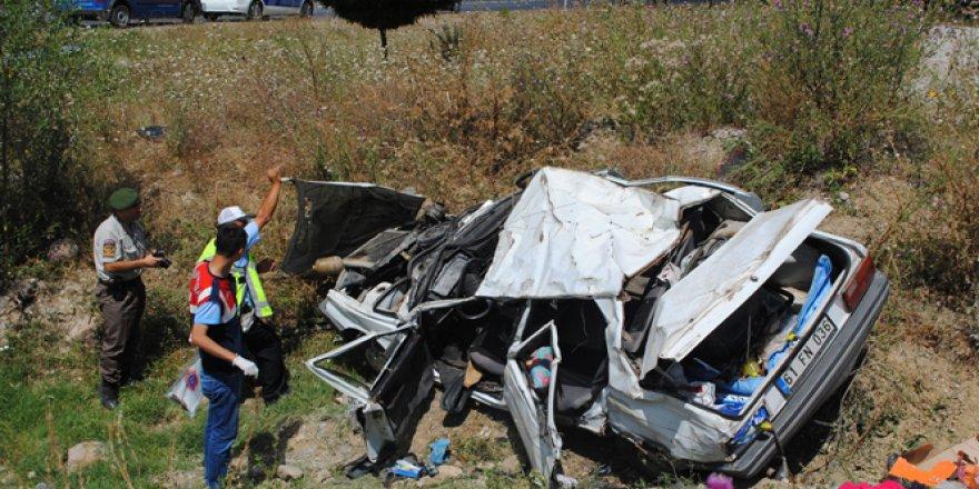 Amasya'da korkunç kaza: 4 ölü