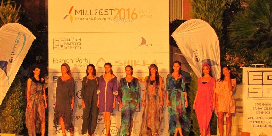 Millfest Festivali'nde plaj esintisi