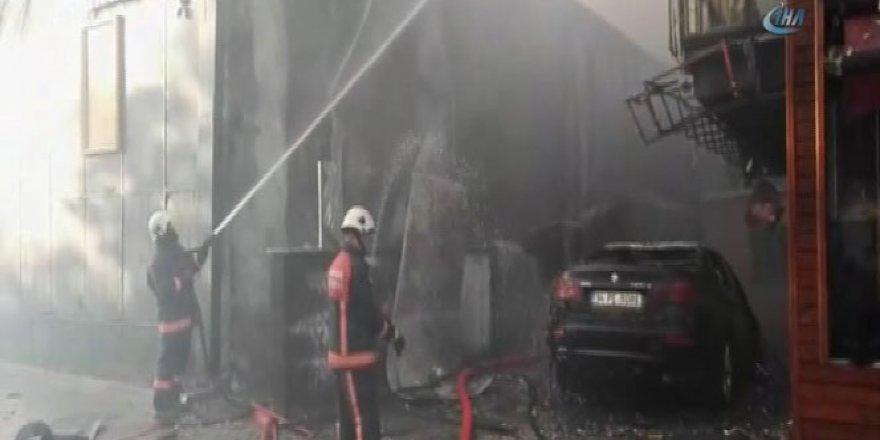 İstanbul, Ataşehir'de büyük yangın
