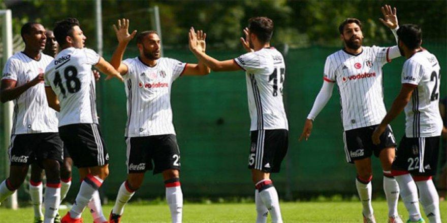 Beşiktaş, Eibar'ı 3-0 mağlup etti