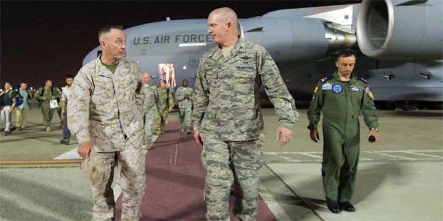 ABD Genelkurmay Başkanı Dunford, geceyi Türkiye'de geçirdi