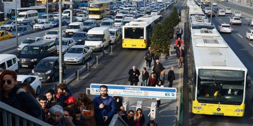 İstanbul'da ulaşıma 'miting' damgası