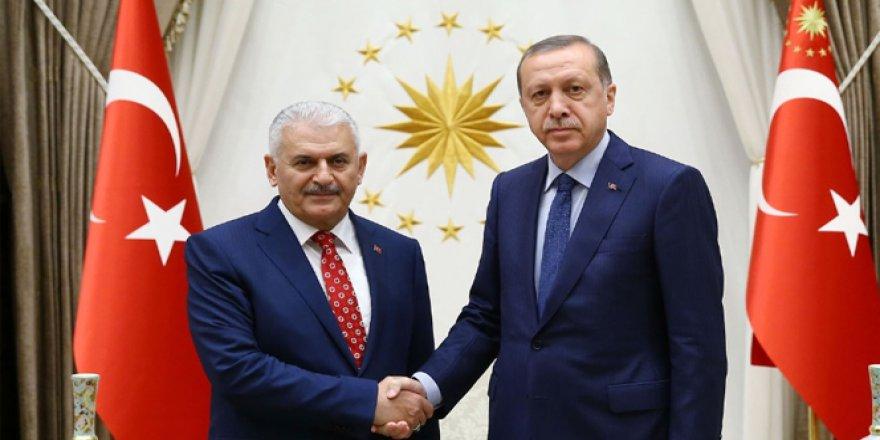 Erdoğan, Başbakan Yıldırım'ı kabul etti