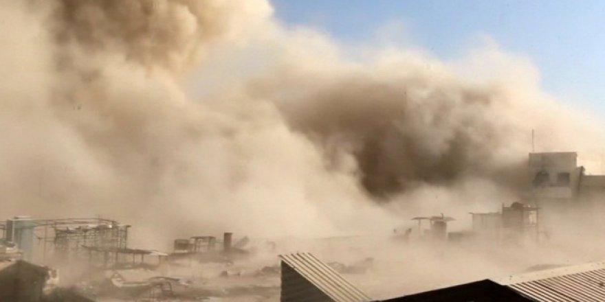 Esad'ın karargahını havaya uçurdular!