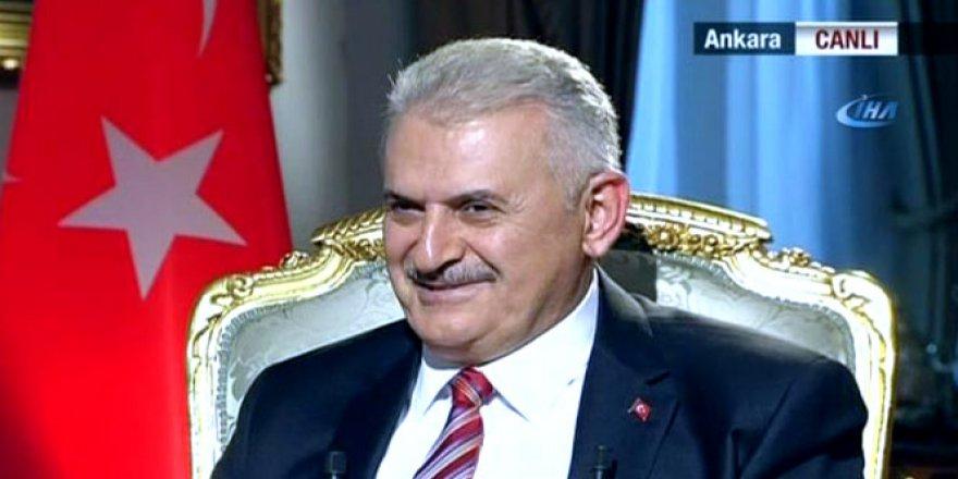 Başbakan Yıldırım'dan Hande Fırat'a soru tepkisi