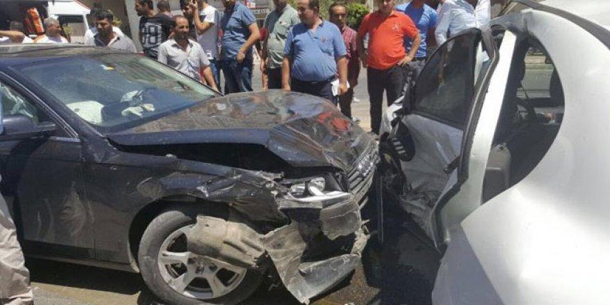 Batman'da trafik kazası: 7 kişi..