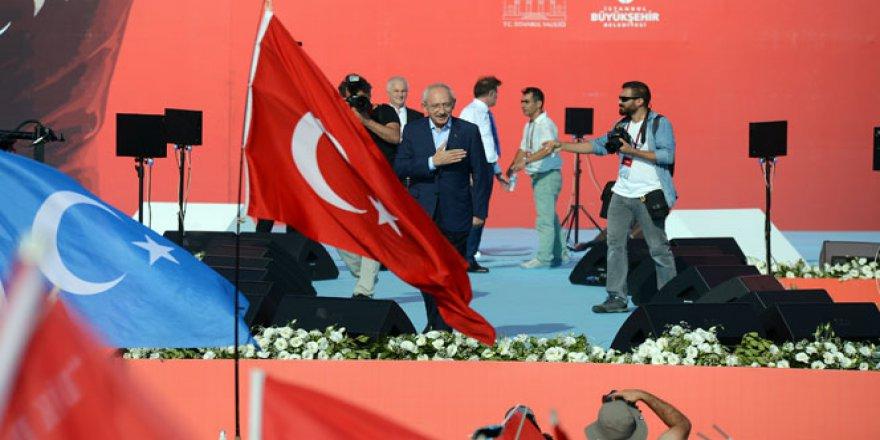 Kılıçdaroğlu Yenikapı'da 12 madde açıkladı