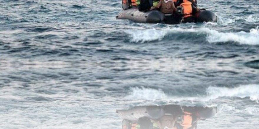 Çeşme'de Suriye uyruklu 68 sığınmacı yakalandı