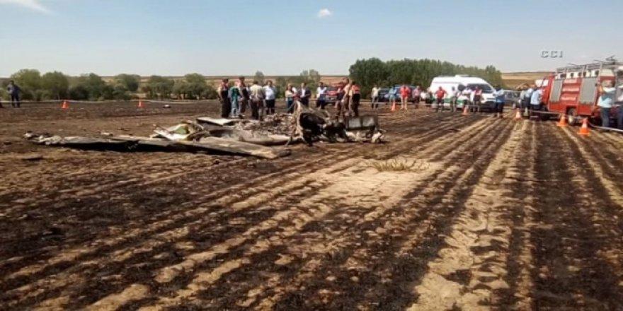 Tekirdağ, Çorlu'da eğitim uçağı düştü: 2 ölü