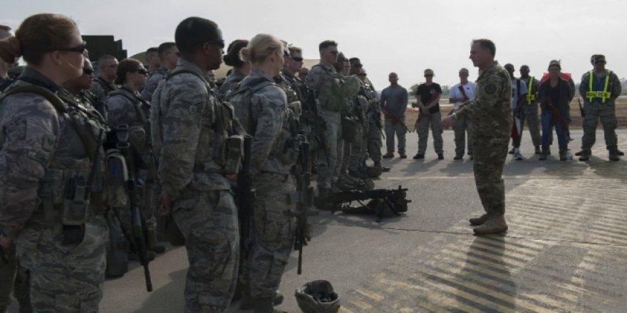 ABD Hava Kuvvetleri Komutanı David L. Goldfein İncirlik'te