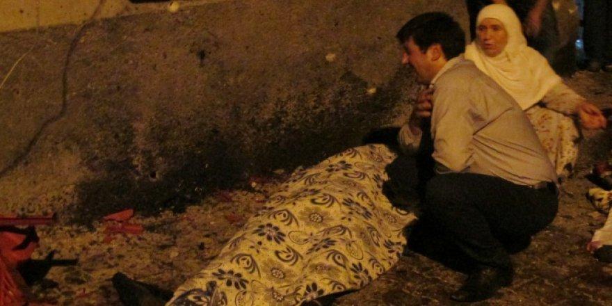 Gaziantep'te Ölü sayısı yükseldi.