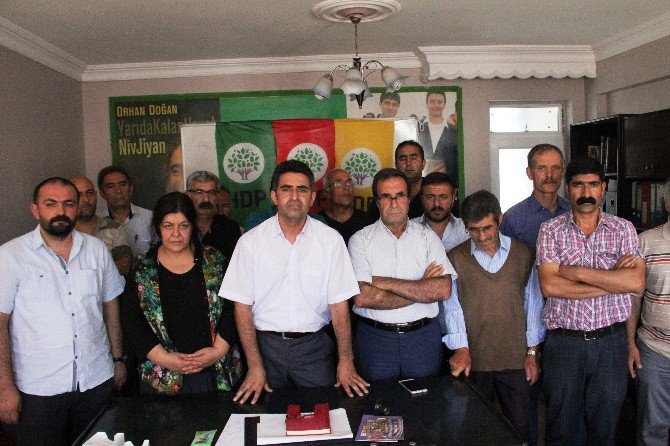 Hdp'den Gaziantep Saldırısına Kınama