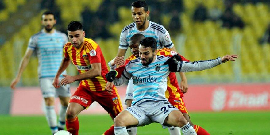 Kayserispor, F.Bahçe maçında oldukça iddialı