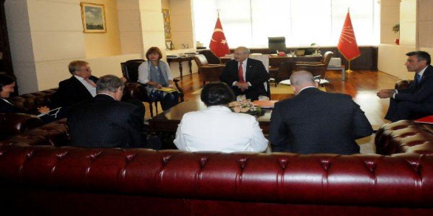 Kılıçdaroğlu, Elmar Brok ve Kati Piri ile görüştü