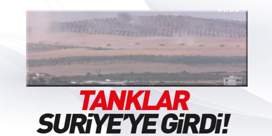 Türk Tankları Suriye'de !