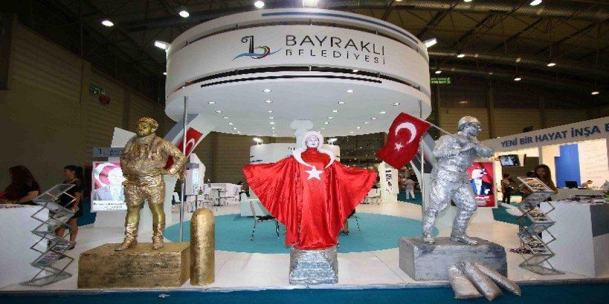 İzmir Fuar'ında Bayraklı Standına Renk Katacak