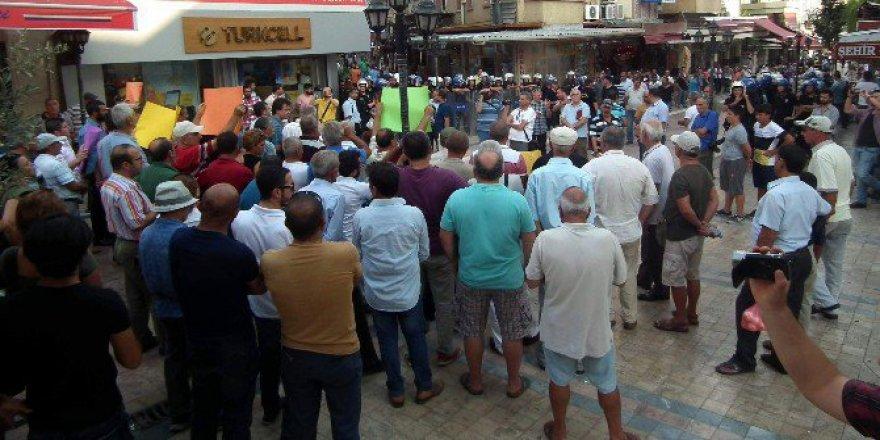 Gaziantep'teki Terör Saldırısı Aydın'da protesto edildi