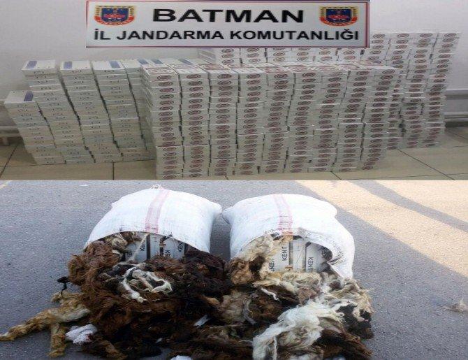 Batman'da kaçak sigara operasyonu