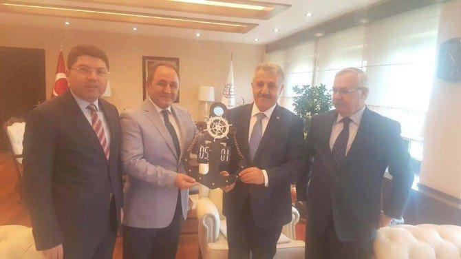 Milletvekillerinden Bakan Ahmet Arslan'a Ziyaret