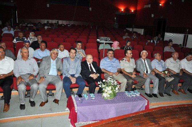 Sorgun Belediyesince Türk Kültür Ve Edebiyatı Konulu Konferans