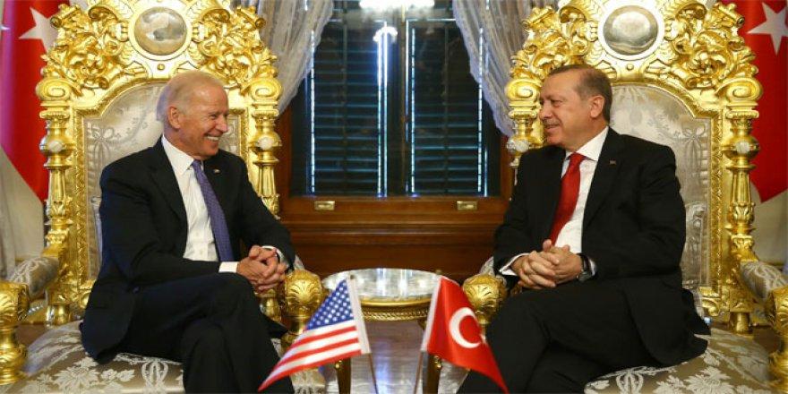 Cumhurbaşkanı Erdoğan Biden'la görüşüyor