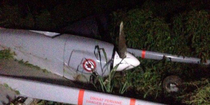 Şanlıurfa'da İnsansız Hava Aracı İHA Düştü