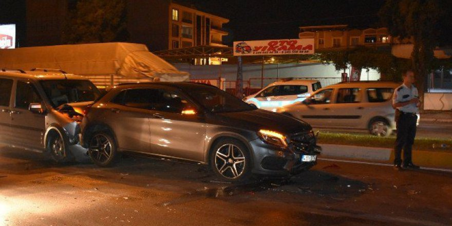 Manisa Akhisar'da Zincirleme Kaza: 6 Yaralı