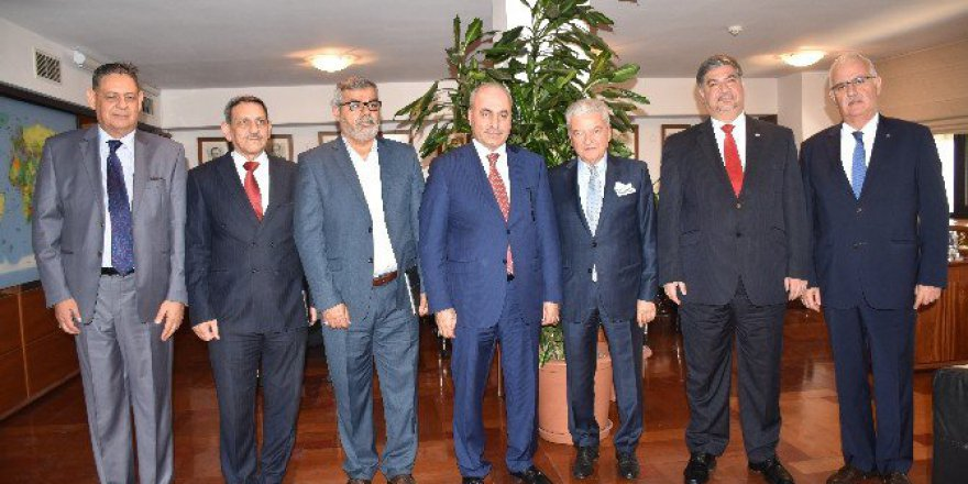 İzmir Ticaret Odası,  Iraklı İş Adamlarını Ağırlayacak