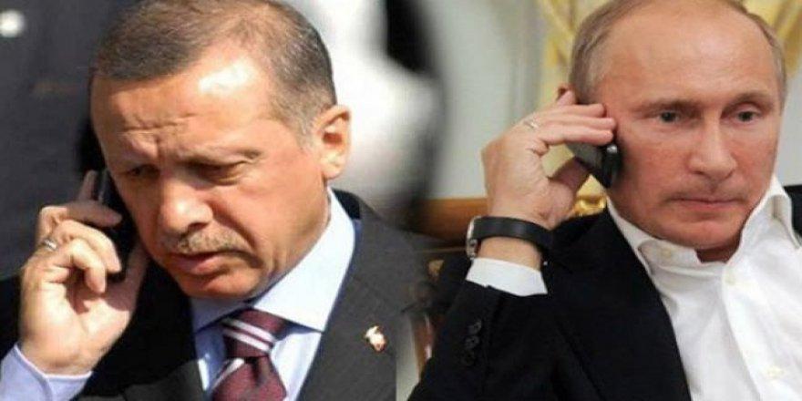 Cumhurbaşkanı Erdoğan, Vladimir Putin İle Görüştü