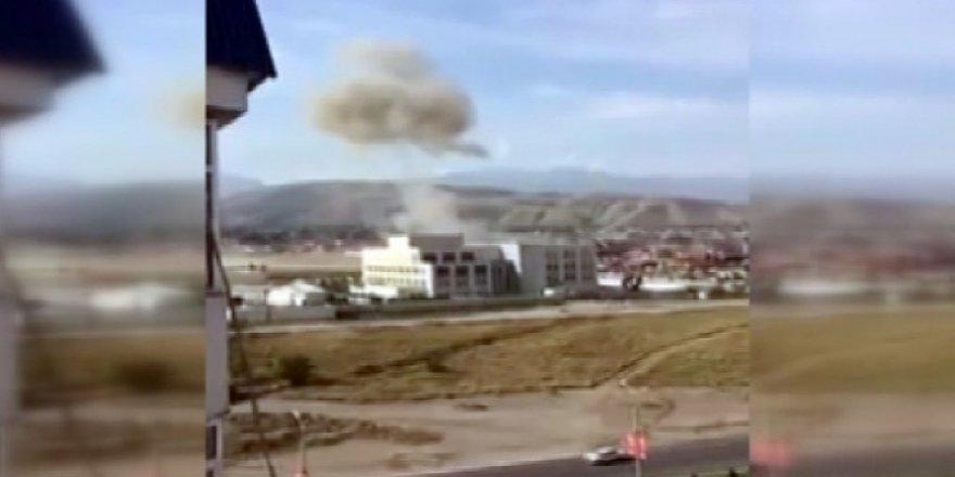 Kırgızistan, Bişkek'teki Çin Büyükelçiliği yakınlarında patlama
