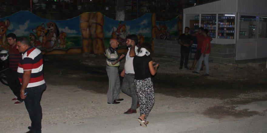 Adana'da bir lunaparkta dehşet kaza! 11 Yaralı..