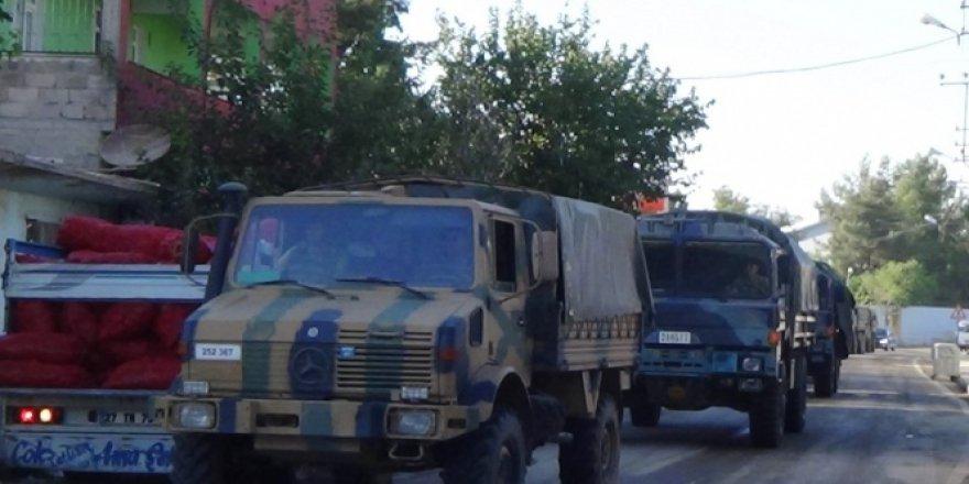 Suriye sınır noktasına Leopard A2-4 tankları sevk edildi