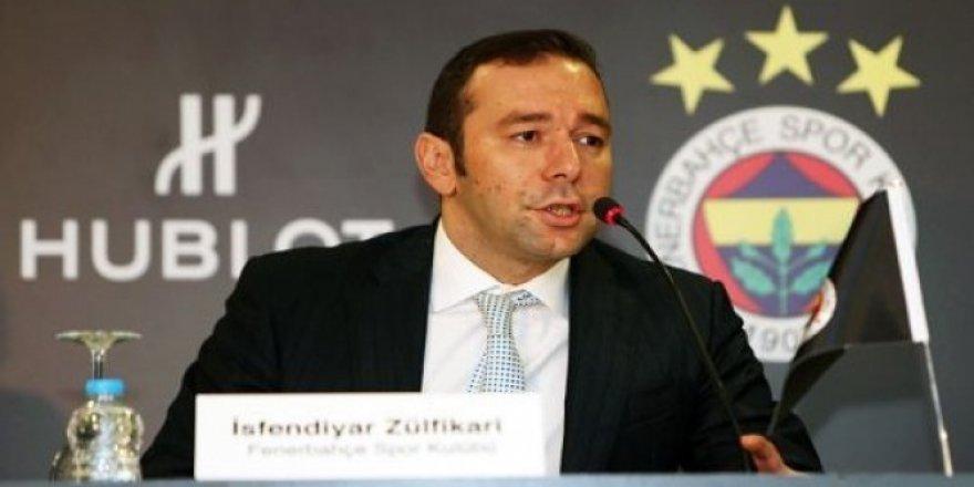 Fenerbahçe Kulübü Asbaşkanı İsfendiyar Zülfikari istifa etti!