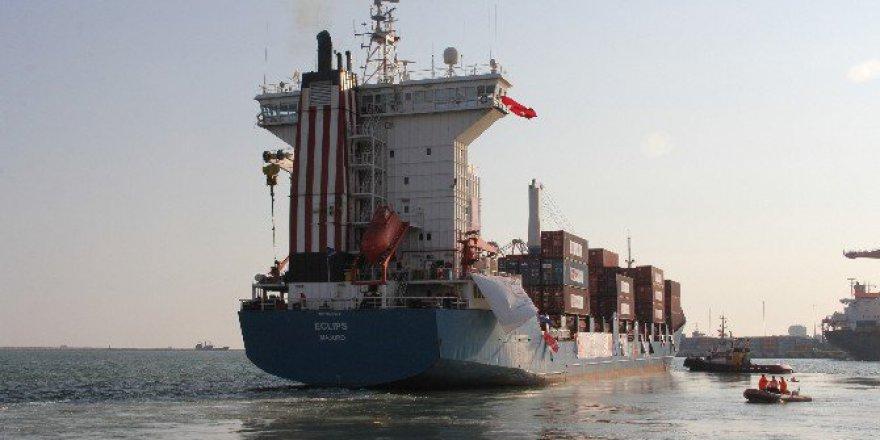 Gazze'ye Kurban Bayramı için Yardım Götürecek 2'nci Gemi Mersin'den Yola Çıktı!