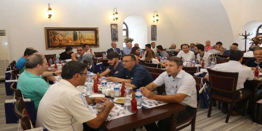 Konyalı Gazetecilere Bursa Brifingi verildi