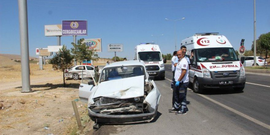 Şanlıurfa-Diyarbakır Yolunda Trafik Kazası: 2 Yaralı