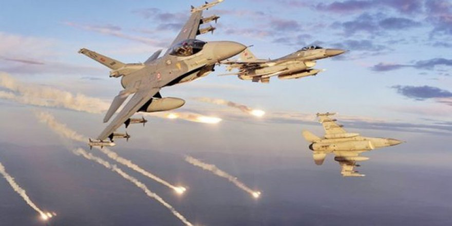 TSK, Kuzey Irak, Avaşin-Basyan Bölgesi'nde 5 Hedef Yerle Bir Edildi