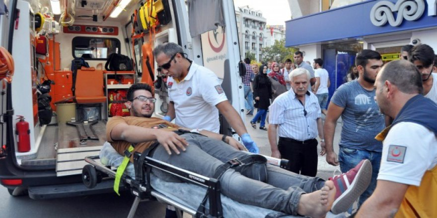 Eskişehir'de silahlı konuştu! 5 yaralı..