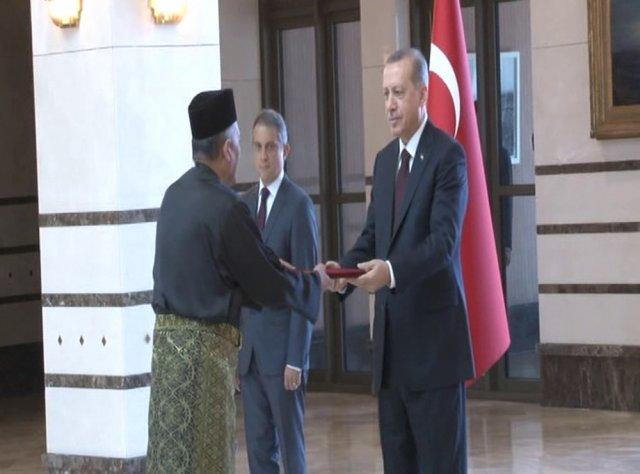 Malezya Büyükelçisi Beştepe'de