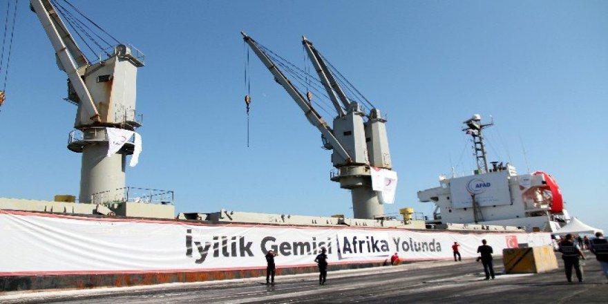 Açlık Çeken Afrika Ülkeleri, Etiyopya, Somailand ve Putland'a Türkiye'den 11 Ton İnsani Yardım