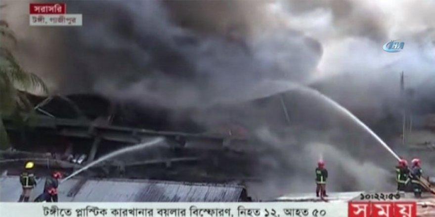Bangladeş'te patlama: En az 15 ölü