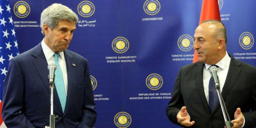 Dışişleri Bakanı Mevlüt Çavuşoğlu, ABD Dışişleri Bakanı John Kerry İle Görüştü