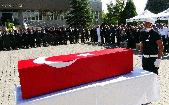 Şehit Ali Can Dövüşçü için Muğla'da Tören