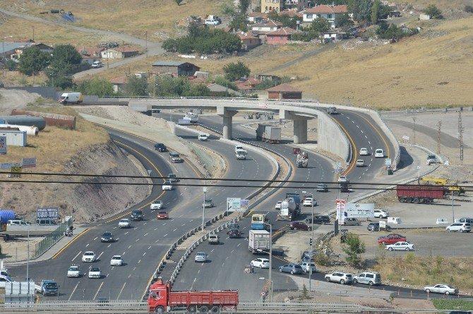 "Ankara'da Hurdacılar Kavşağı ""U"" Dönüşü Köprüsü Trafiğe Açıldı"